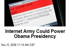 Internet Army Could Power Obama Presidency