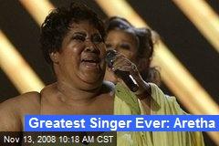 Greatest Singer Ever: Aretha