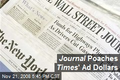 Journal Poaches Times ' Ad Dollars