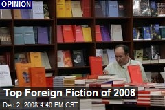 Top Foreign Fiction of 2008