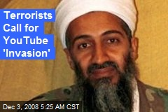 Terrorists Call for YouTube 'Invasion'