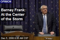 Barney Frank: At the Center of the Storm