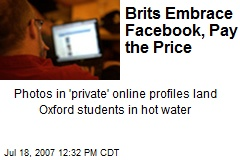 Brits Embrace Facebook, Pay the Price