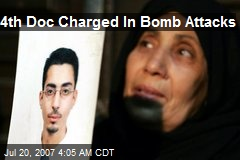 4th Doc Charged In Bomb Attacks