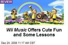 Wii Music Offers Cute Fun and Some Lessons