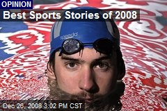 Best Sports Stories of 2008