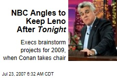 NBC Angles to Keep Leno After Tonight