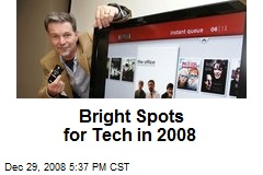 Bright Spots for Tech in 2008