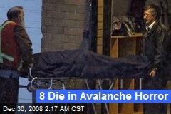 8 Die in Avalanche Horror
