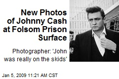 New Photos of Johnny Cash at Folsom Prison Surface