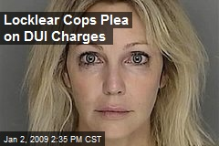 Locklear Cops Plea on DUI Charges