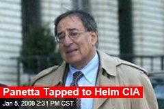 Panetta Tapped to Helm CIA