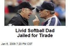 Livid Softball Dad Jailed for Tirade