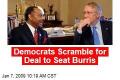 Democrats Scramble for Deal to Seat Burris