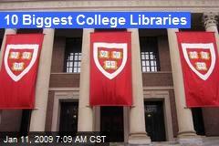 10 Biggest College Libraries