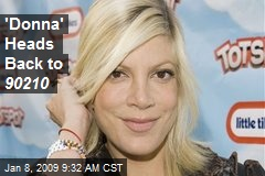 'Donna' Heads Back to 90210