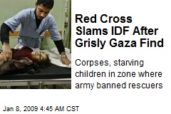 Red Cross Slams IDF After Grisly Gaza Find