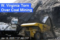 W. Virginia Torn Over Coal Mining