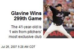 Glavine Wins 299th Game