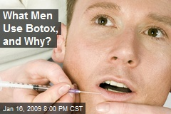 What Men Use Botox, and Why?