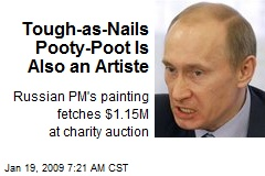 Tough-as-Nails Pooty-Poot Is Also an Artiste