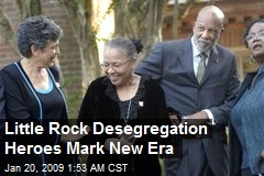 Little Rock Desegregation Heroes Mark New Era