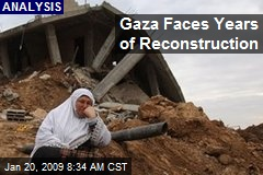 Gaza Faces Years of Reconstruction