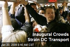Inaugural Crowds Strain DC Transport