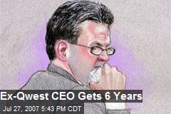 Ex-Qwest CEO Gets 6 Years