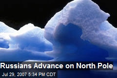 Russians Advance on North Pole