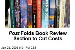 Post Folds Book Review Section to Cut Costs