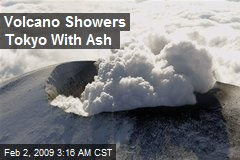 Volcano Showers Tokyo With Ash