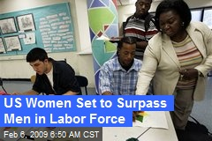 US Women Set to Surpass Men in Labor Force