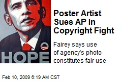 Poster Artist Sues AP in Copyright Fight