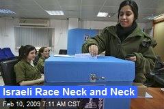 Israeli Race Neck and Neck