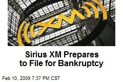 Sirius XM Prepares to File for Bankruptcy