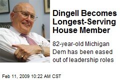 Dingell Becomes Longest-Serving House Member