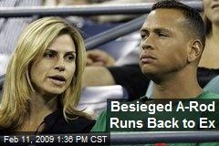 Besieged A-Rod Runs Back to Ex