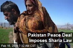 Pakistan Peace Deal Imposes Sharia Law