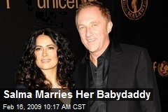 Salma Marries Her Babydaddy