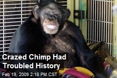 Crazed Chimp Had Troubled History