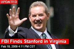 FBI Finds Stanford in Virginia