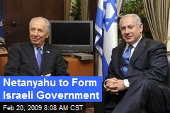 Netanyahu to Form Israeli Government