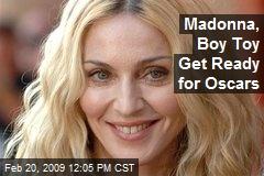 Madonna, Boy Toy Get Ready for Oscars