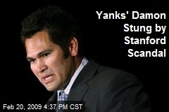 Yanks' Damon Stung by Stanford Scandal
