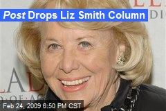 Post Drops Liz Smith Column