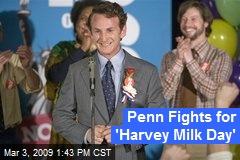 Penn Fights for 'Harvey Milk Day'