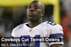 Cowboys Cut Terrell Owens