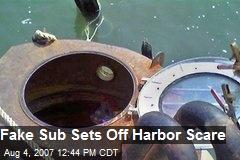 Fake Sub Sets Off Harbor Scare