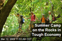 Summer Camp on the Rocks in Tough Economy